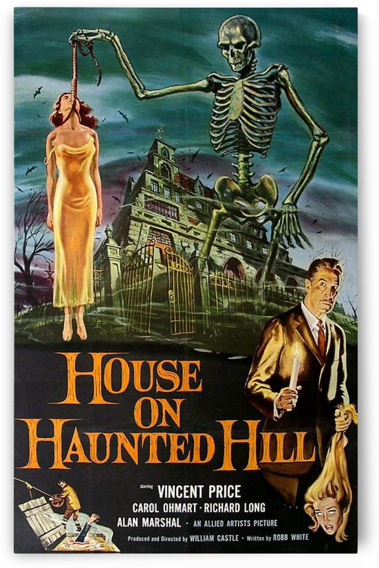 Vinatge Classic Horror Poster by Smithson