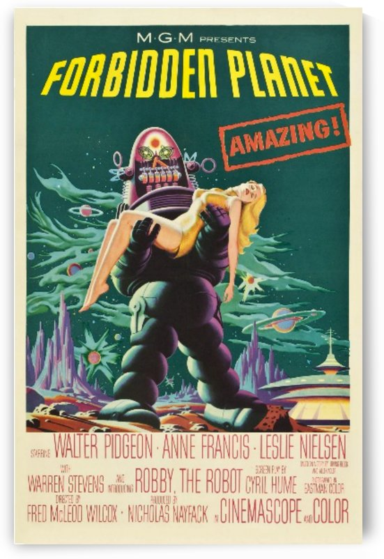 Vinatge Classic Sci Fi Horror Poster by Smithson