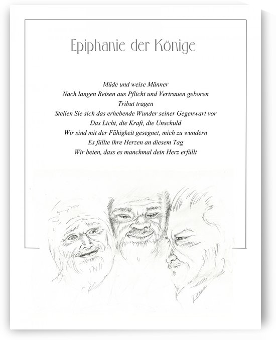 Epiphany - German by Shadow and Form