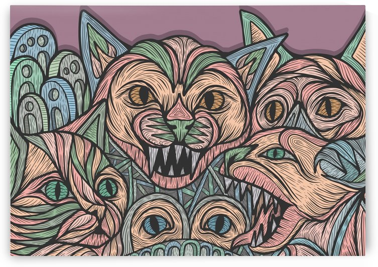 Phantom Cats by Milhad