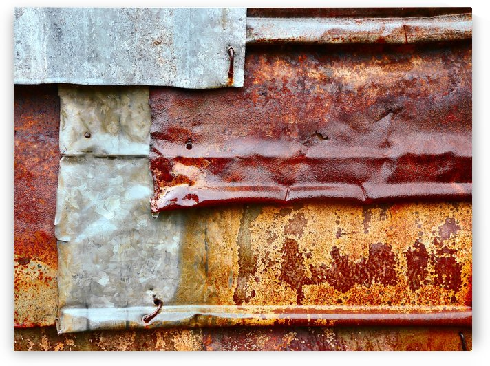 Corrugated Iron Series 28 by Lexa Harpell