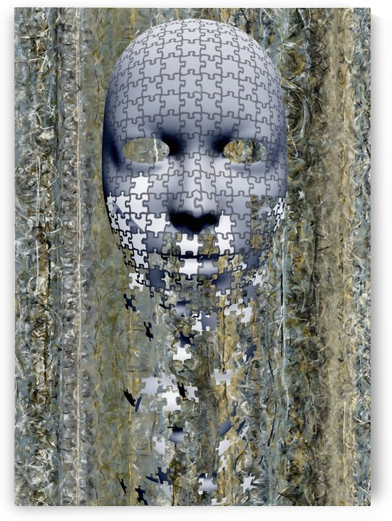 Puzzle Mask by Bruce Rolff