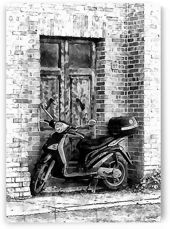 Parked in the Doorway by Dorothy Berry-Lound