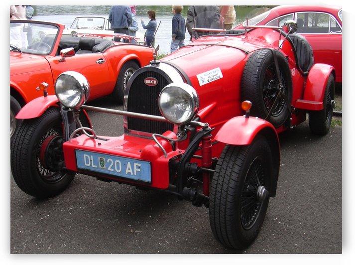 Bugatti old model by Alex Pell