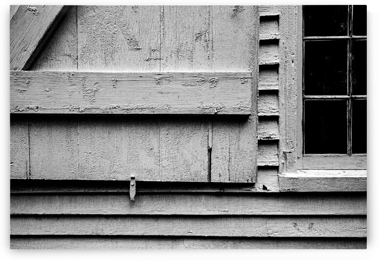Shutter and Panes by Dave Therrien