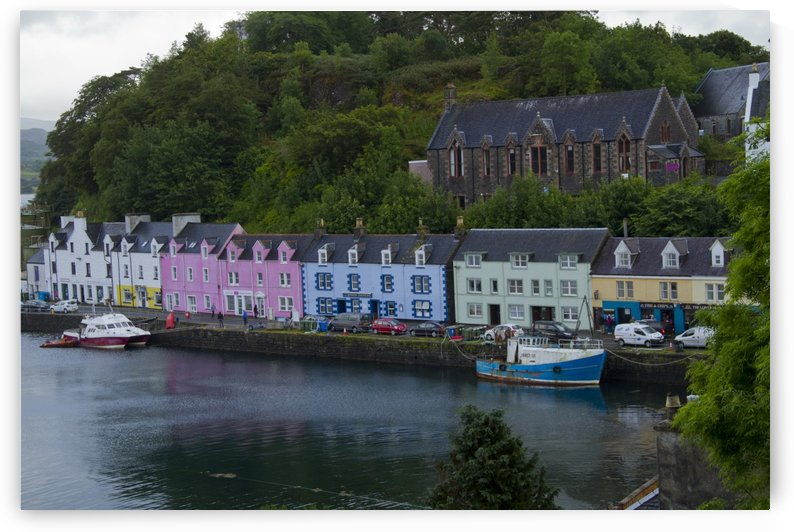 Portree Harbor by Lindsey McCarty