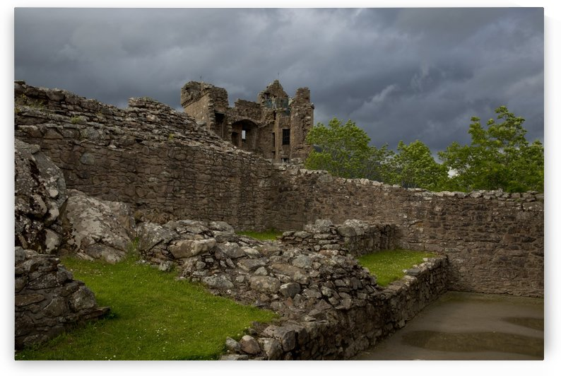 Endless Urquhart Castle by Lindsey McCarty