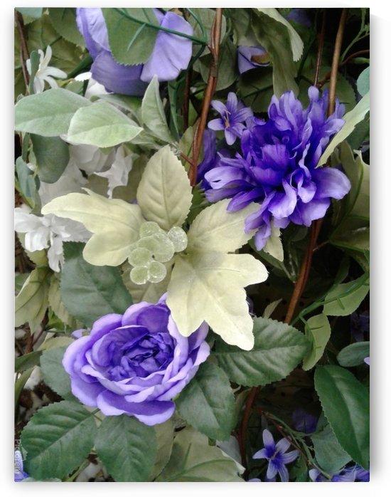 Blue flowers by RollaD