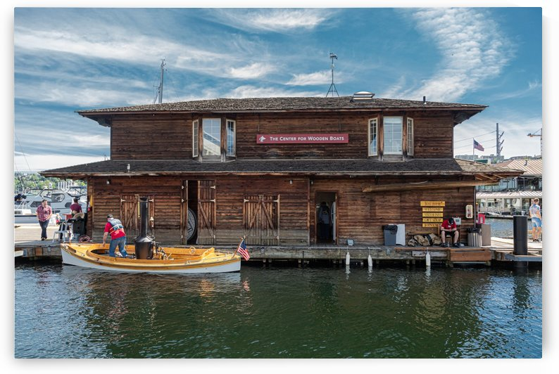 Boathouse at the Center for Wooden Boats_1574793367.8924 by Darryl Brooks