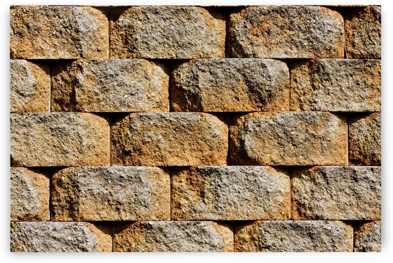 Staggered Block Wall (1) by Darryl Brooks