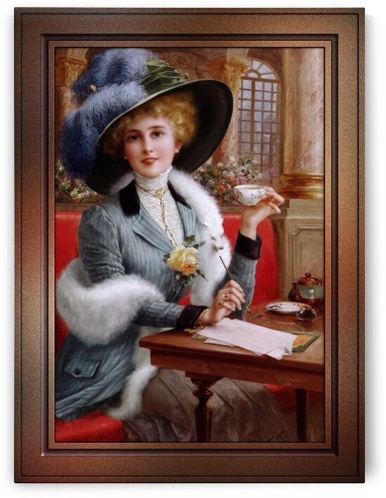 Elegant Lady by Emile Vernon by xzendor7