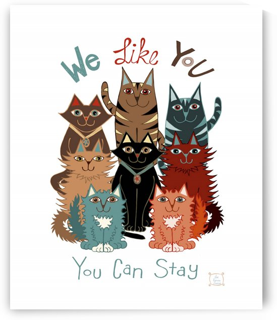We Like You Cats by Lisa Frances Judd