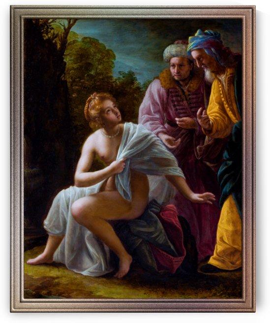 Susanna And The Elders by Ottavio Mario Leoni by xzendor7