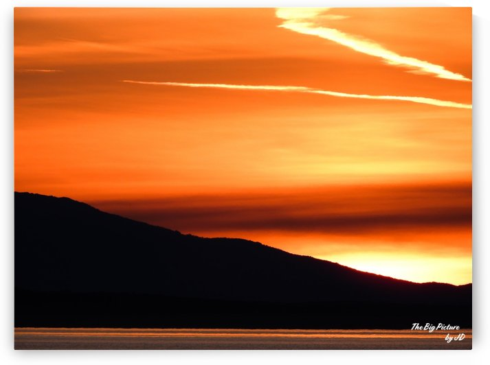 Qualicum Beach Sundown by The Big Picture by JD
