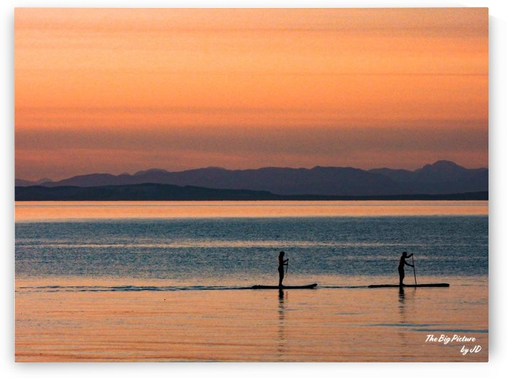 Qualicum Beach Paddle Board Fun by The Big Picture by JD