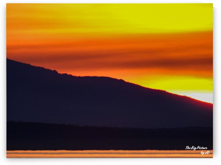 Qualicum Beach Sunset by The Big Picture by JD