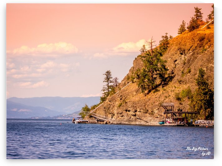 Okanagan Lake Elevator by The Big Picture by JD