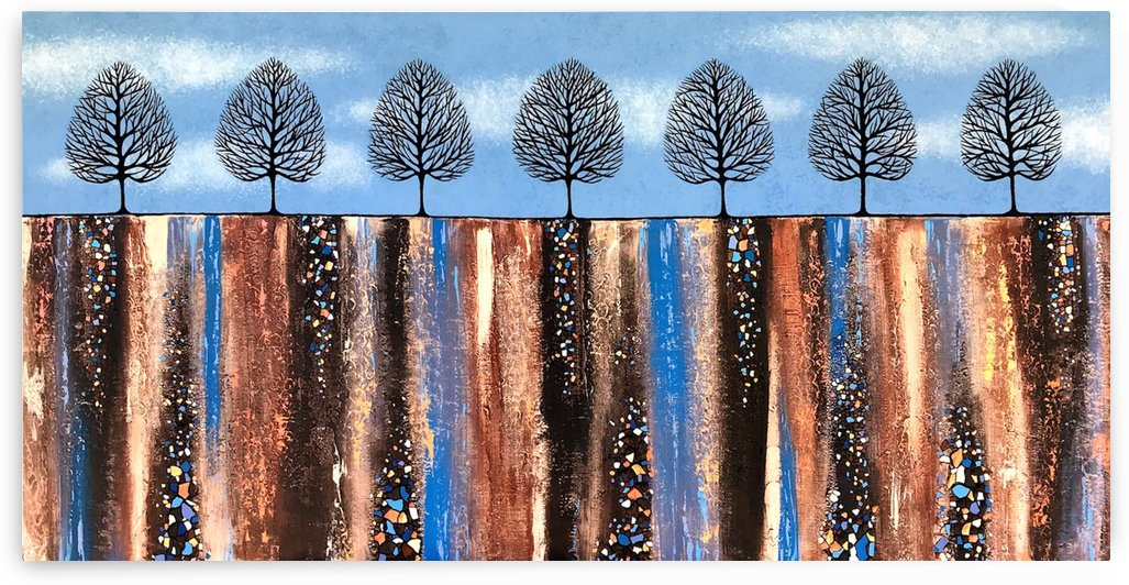 Trees Of Winter by Lisa Frances Judd