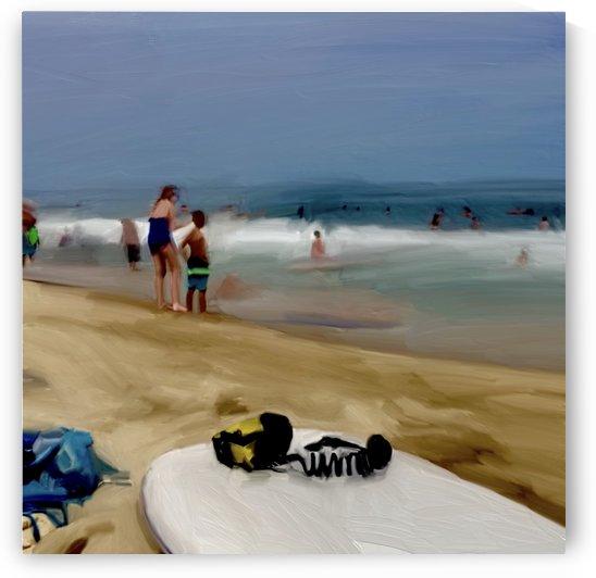 Beach at 52nd Street by Sarah Butcher