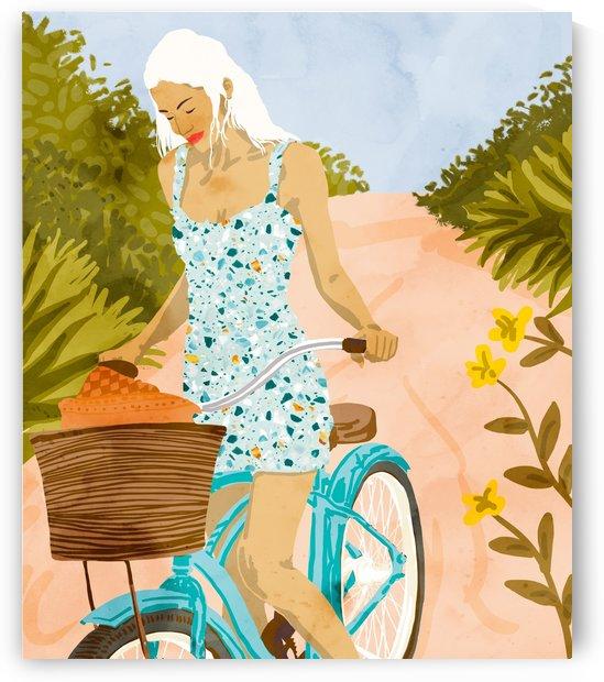 Biking In The Woods by 83 Oranges