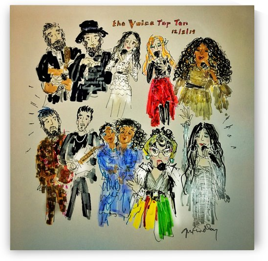 The Voice-Season17-TopTen by Gerri Findley