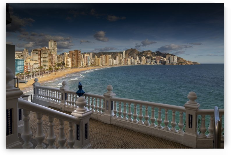 Benidorm from the Mirador del Castell by Leighton Collins