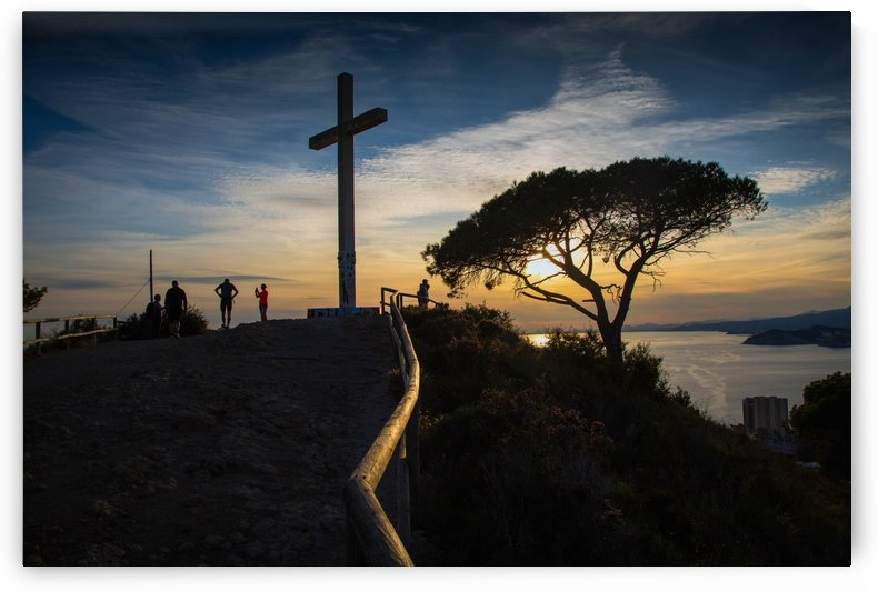The Cross of Benidorm by Leighton Collins