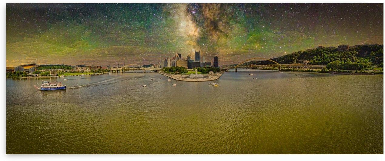 pittsburgh point fountain Galaxy by Tony Panichella