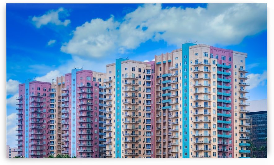 Tropical Condo Towers by Darryl Brooks