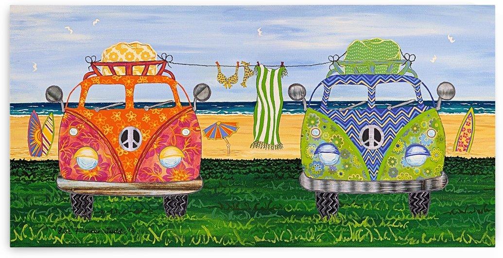 Hippy Van Holiday no.1 by Lisa Frances Judd