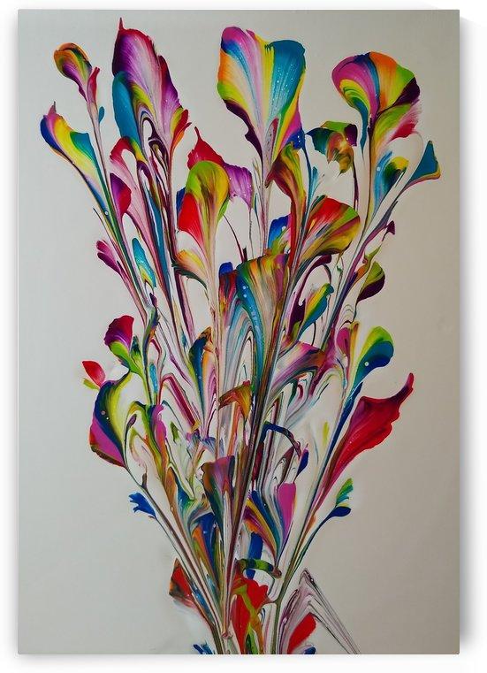 Flowers Three by J C Adams