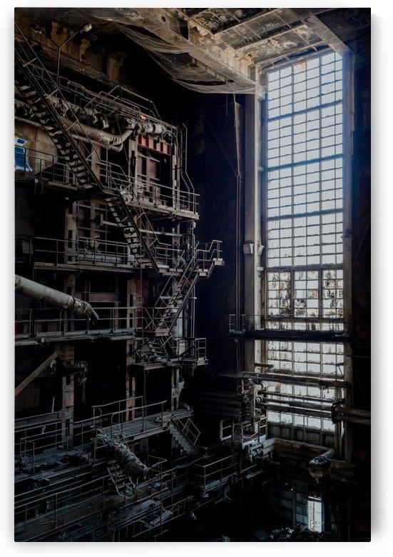 Blade Runner Power Plant by Steve Ronin