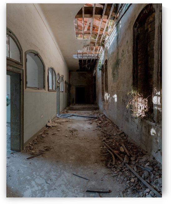Poveglia Hallway by Steve Ronin