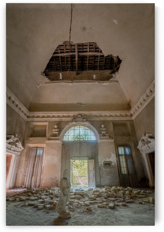 Abandoned Villa Decaying by Steve Ronin