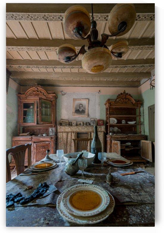 Abandoned Dinner Set by Steve Ronin