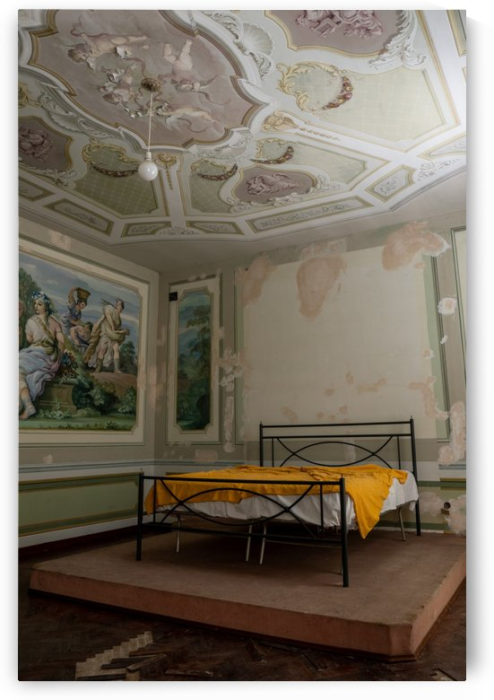 Abandoned Mansion Marvelous Bedroom by Steve Ronin