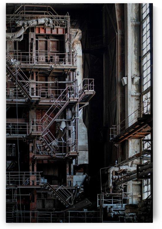 Abandoned Blade Runner Factory by Steve Ronin