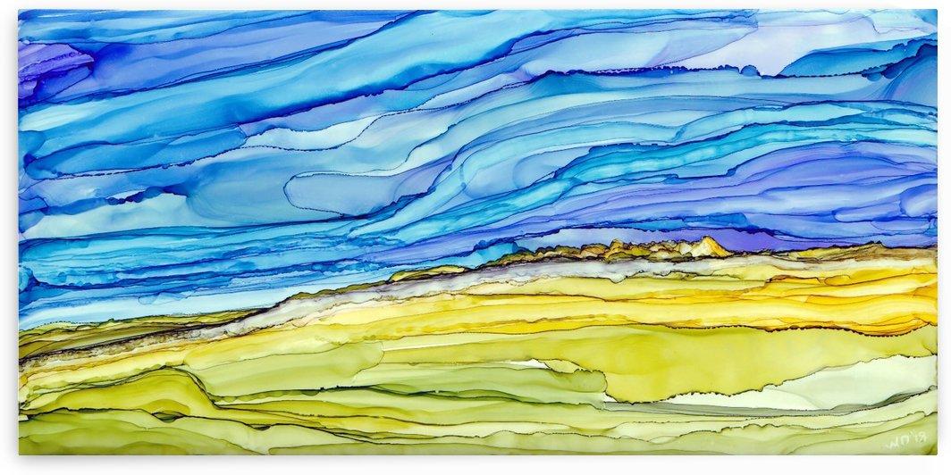 Over The Hills and Far Away by SunshyneArt