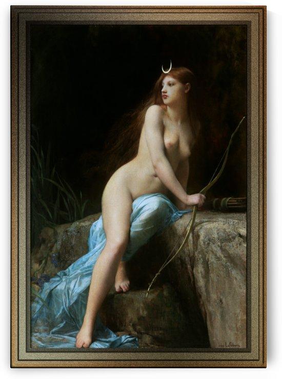 Diana Chasseresse by Jules Joseph Lefebvre by xzendor7