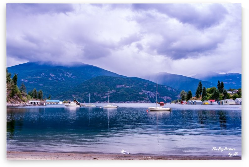 Kaslo Boats by The Big Picture by JD