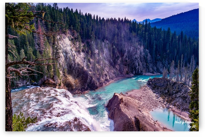Wapta Falls From Above by The Big Picture by JD