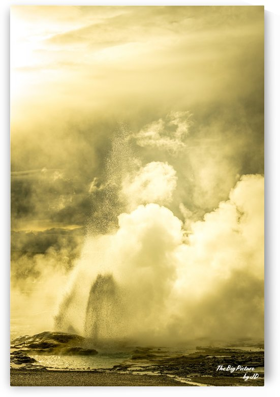 Yellowstone Norris Geyser Basin Long by The Big Picture by JD
