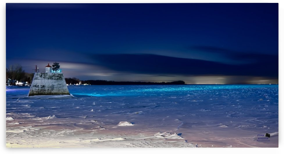 Nuit bleutee by Sylvain Bergeron Photographies