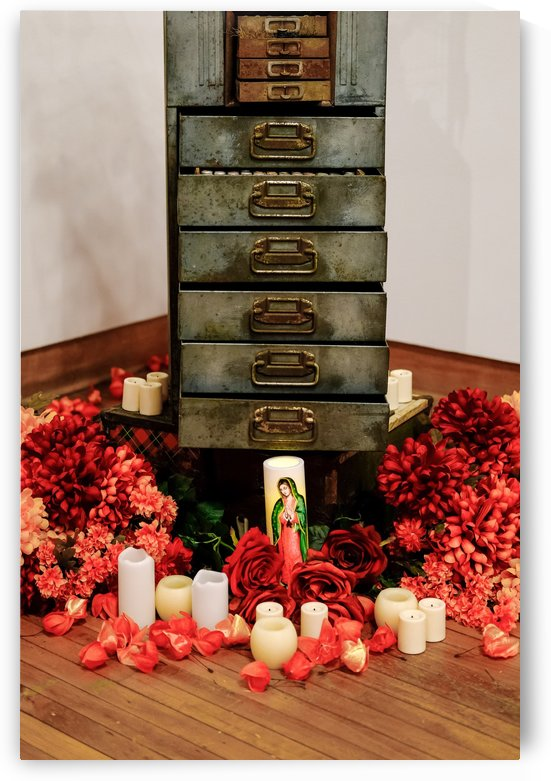 Altar at Old Chest by Darryl Brooks