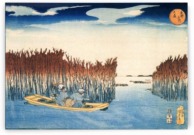 Omori rice by Utagawa Kuniyoshi