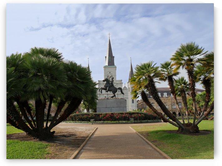 Jackson Square New Orleans by On da Raks