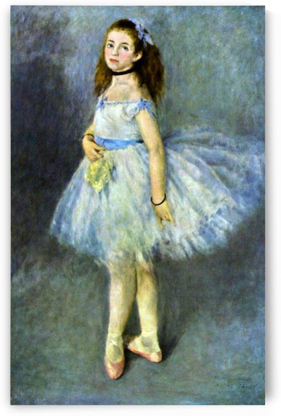Ballet Dancer By Renoir by