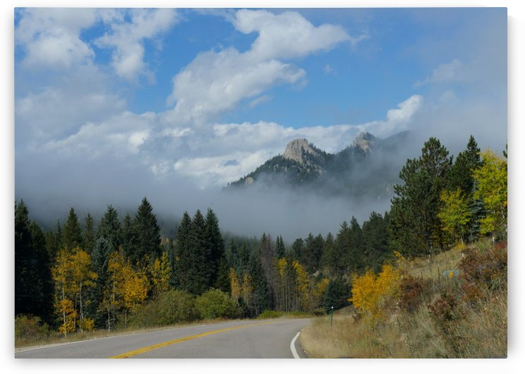 Misty Colorado Morning by On da Raks