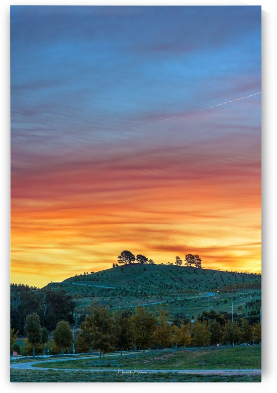 DAIRY HILL SUNSET by BBCLICKZ - Bhaumik Bumia Photography