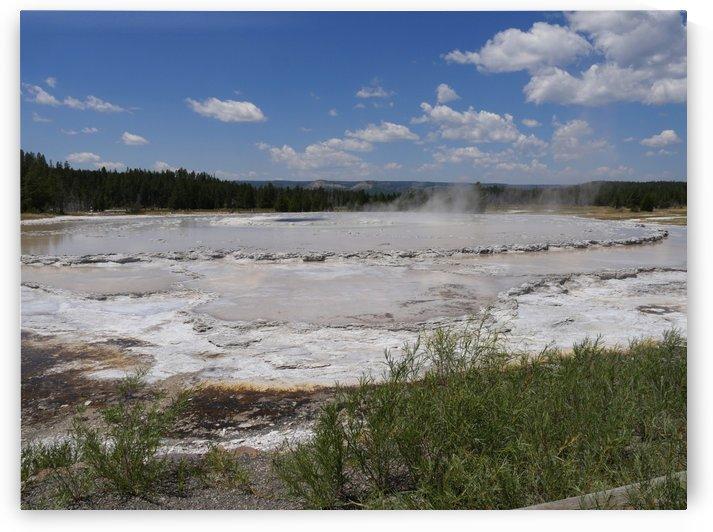 Fountain Paint Pot Yellowstone National Park by On da Raks